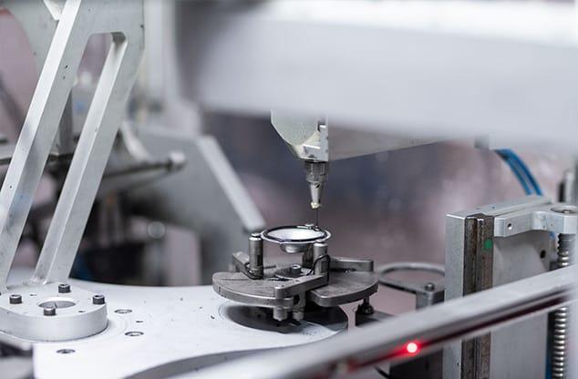 Herstellung von Speiserkappen bei GTP Schäfer